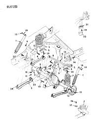 1993 jeep grand cherokee suspension rear with shock absorber diagram 0000095o