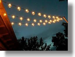 outdoor string globe lights