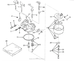 Tecumseh walbro 631498 parts diagram for carburetor