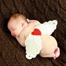 girls baby photos 2019 cute angel wings newborn boy girls photo props crochet baby