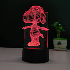 Kids Red Night Light 3d Led Illusion Night Light Baby Snoopy 3d Night Lamp Acrylic Night Light For Kids Buy 3d Led Lamp Night Light Baby Night Light For Kids Product On