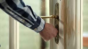 person locking door. Unlocking The Door Person Locking I