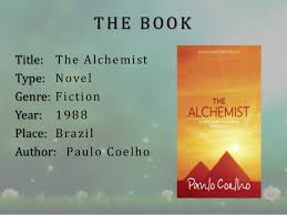 book review on alchemist the book