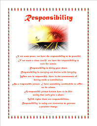 about being responsible essay about being responsible
