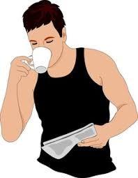 drinking coffee clipart. Brilliant Clipart Men Drinking Coffee Clipart 1 Intended I