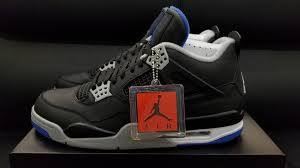 jordan 4 retro. air jordan 4 retro motorsport alternate 308497-006