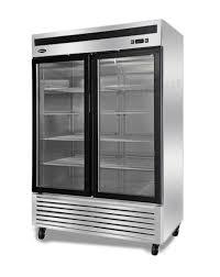 double glass door fridge quipwell