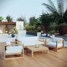 backyard furniture patio teak outdoor