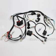 full electrics wiring harness loom solenoid coil cdi spark plug for spark plug wire harness for snowblower at Spark Plug Wire Harness