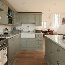 painted kitchensGreen painted kitchen  Modern country style Modern country and