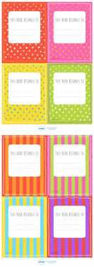 l resources patterned this book belongs to labels clroom printables for pre kindergarten elementary and beyond