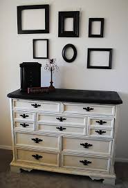 painting wood furniture whiteHow to spray paint furniture  Classy Clutter