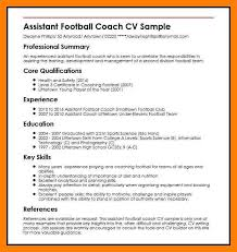 Assistant Coach Resume Samples 12 Football Coach Resumes By Nina Designs
