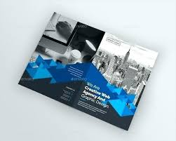 2 Folded Brochure Template Funeral Free Booklet Template Word Ms Downloads One Page