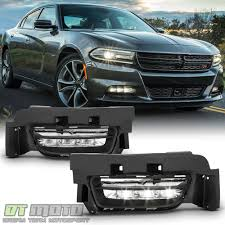 Dodge Charger Lights Details About 2015 2016 2017 Dodge Charger Factory Style Led Fog Lights Bumper Lamps W Switch