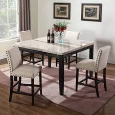 marble counter height dining table jpg 490 490 5 piece