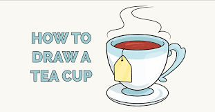 How to draw a coffee is the point of this video. How To Draw A Tea Cup Really Easy Drawing Tutorial
