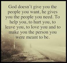 God Quotes New God Gives You The People You Need Quote Picture