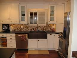 white cabinets dark countertop. kitchen:great combination white kitchen cabinets countertops black colors minimalist design awesome between dark countertop h