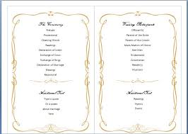 Free Wedding Brochure Template - Kleo.beachfix.co