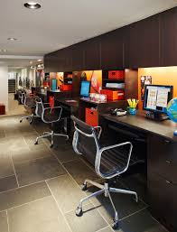 home office in garage. Chamberlain Garage Power Station Home Office Contemporary With Baskets Cabinets Globe Long In