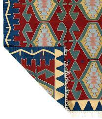 turkish west anatolian kilim flat weave rug for