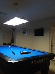 pool room lighting. LED Panel Lights For 7,8,9,10 Ft Pool And Billiard Tables [Archive] - OnePocket.org Forums Room Lighting L