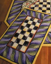 courtly check rug 3