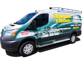 garage door repair truck precision