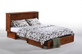 Queen Storage Murphy Bed with Mattress