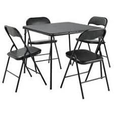 Argos Home Quin Metal Folding Table U0026 4 Folding Chairs