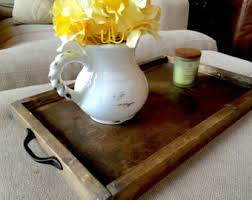 Decorative Serving Trays With Handles Ottoman trays Etsy 69