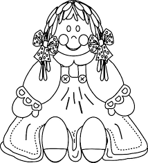 Small Picture Porcelain Dolls Coloring Coloring Pages