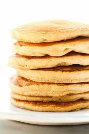 Fluffy Flourless Banana Smoothie Pancakes Vegan Gluten Free