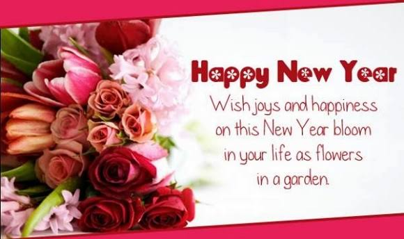 happy new year wishes cards