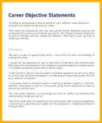 Career Objective Examples For Resume Mesmerizing Career Objective Examples For Resume Finance Great Statement Example