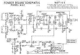 deluxe models tremolo circuit at bottom left note both channels have a 500pf bright cap across the volume control but the bright channel s tone cap is twice the normal