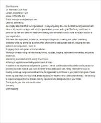 Cna Cover Letter Samples 6 Nursing Cover Letter Examples In Word Pdf