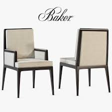 model baker carmel cane dining side chair and