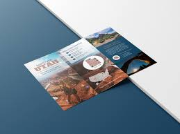 Travel Brochure Cover Design Photo Centric Outdoor Travel Brochure Idea Venngage