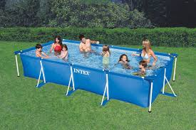 INTEX 28273NP 17725in x 86625in x 33in Rectangular Frame Pool