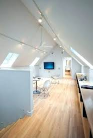 track lighting for sloped ceiling. Track Lighting On Sloped Ceiling For Vaulted Ceilings Can Illuminate Entire Rooms P