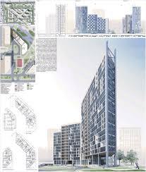 Проект многоэтажного жилого дома в Томске Архитектура и  Проект многоэтажного жилого дома в Томске