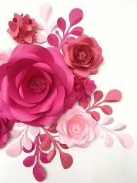 Paper Flower Decor 92 Best Paper Flower Backdrop Images On Pinterest Wall Flower Decor