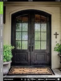 wood front doors25 best Double doors exterior ideas on Pinterest  Double front