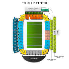 Stubhub Center Football Seating Chart Dignity Health Sports Park Tickets Los Angeles Chargers