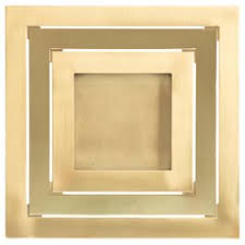 antique picture frames. Gabriella Crespi Square Brushed And Polished Brass Picture Frame, Italy,  1973 Antique Picture Frames