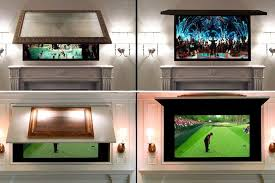 hide flat screen tv new 4 cool ways to make your tv practically vanish realtor intended for 1
