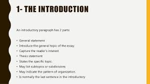 essay structure 3 1 the introduction an