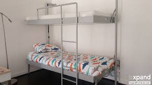 Folding Bunk Bed Compatto Murphy Bunk Bed From Italy Expand Furniture